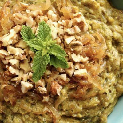 Kashke Bademjan : iranian eggplant caviar