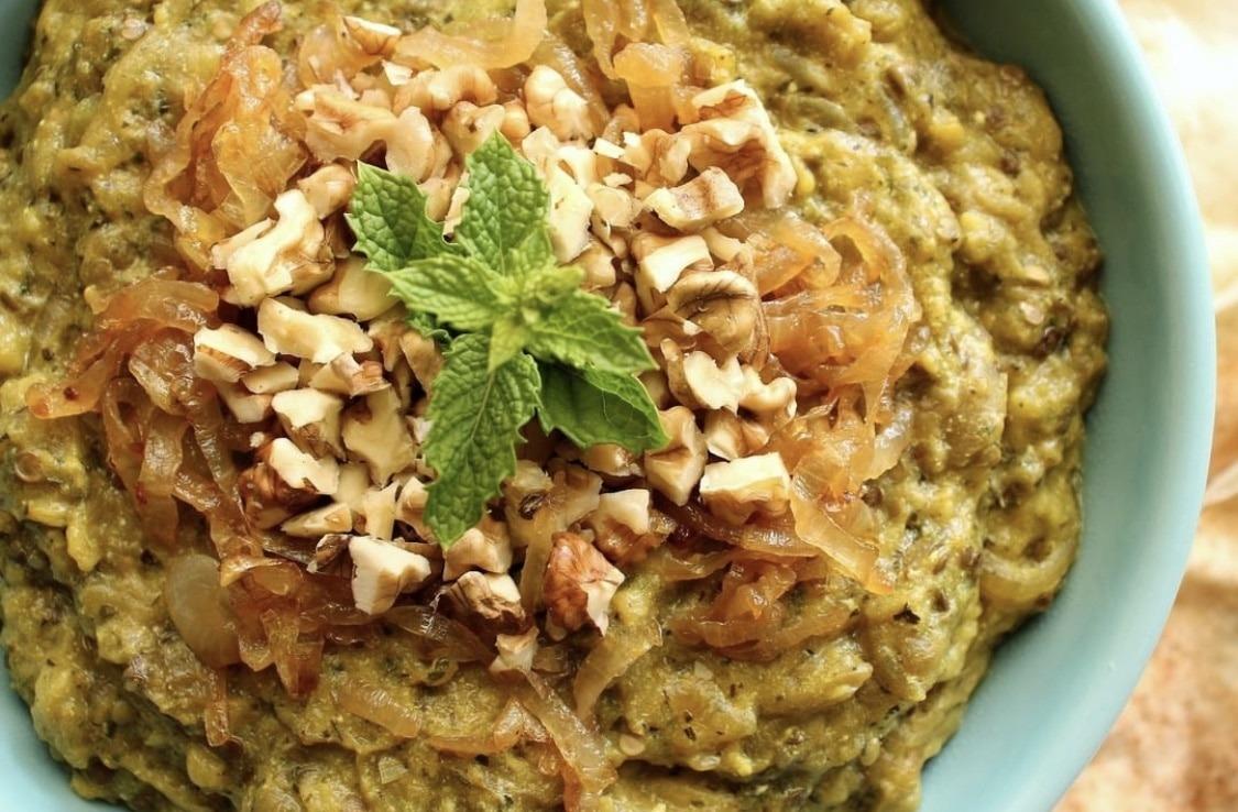 Kashke Bademjan: caviar de berenjena iraní