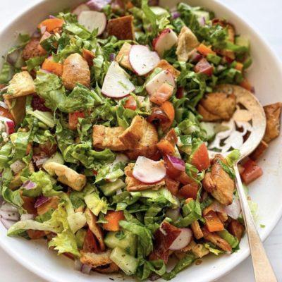 Fattoush - Salade iranienne