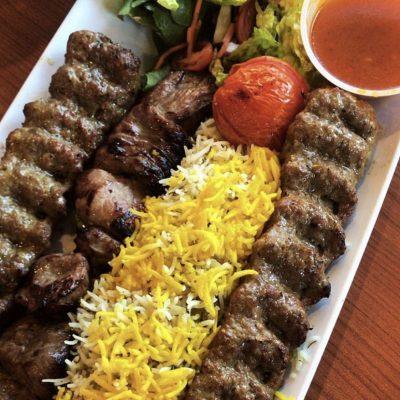 Kabab Koobideh : brochettes iraniennes