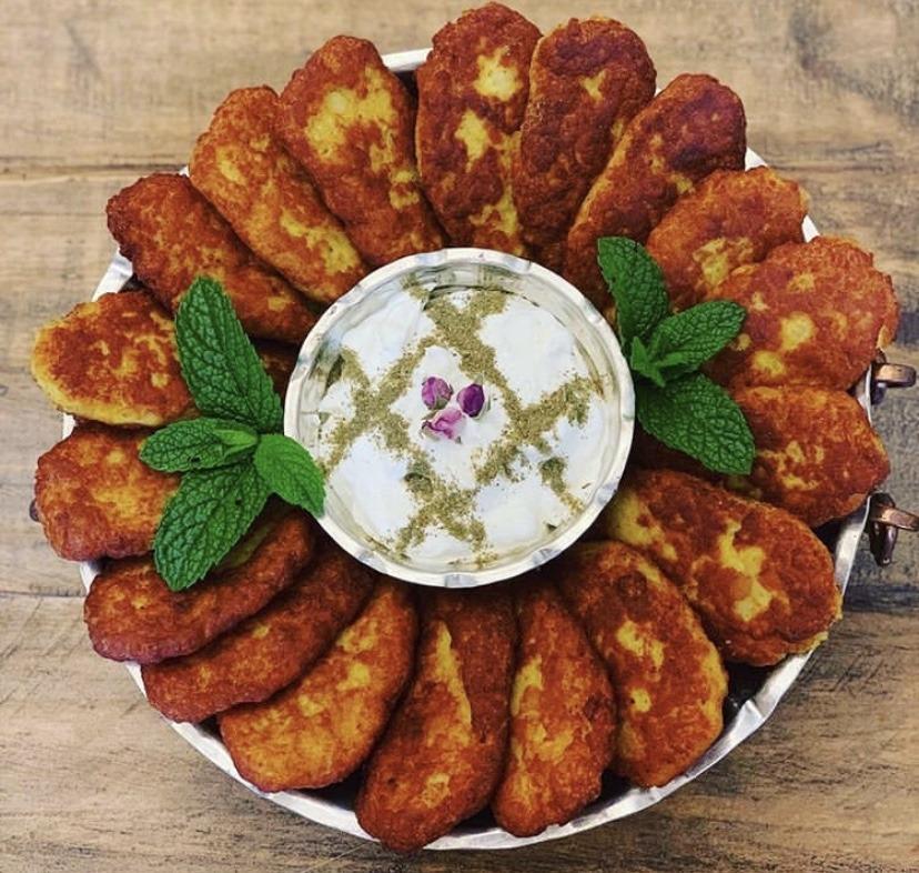 Koukou Sibzamini – Croquettes iraniennes aux pommes de terre