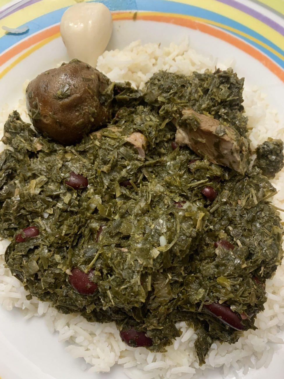 Ghormeh Sabzi: estofado de cordero con hierbas